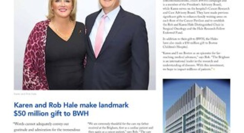 BWH Spring 2018 Donor Newsletter