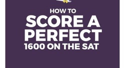 How to Score a Perfect 1600 on the SAT