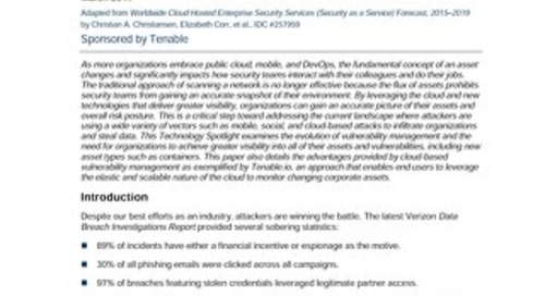 Leveraging the Cloud to Achieve Visibility, Tracking, and Security