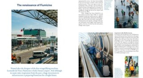 Fiumicino Airport case study
