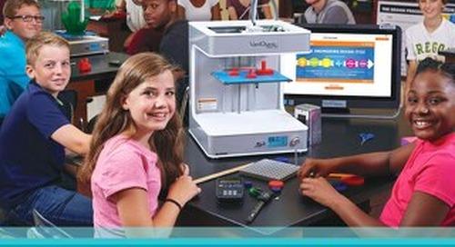 VariQuest CREATE Trifecta 3D Printer + STEM:IT Brochure