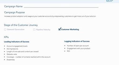 [Worksheet] Increase Customer Adoption with ABM