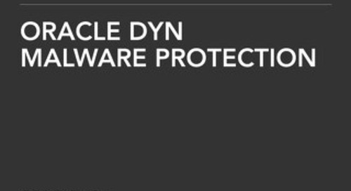 Solution Brief: Malware Protection