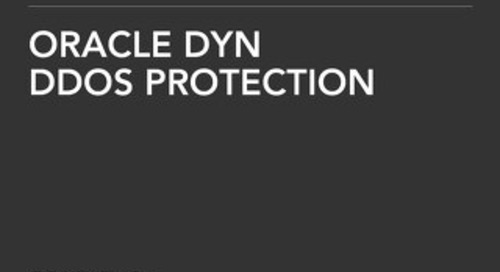 Solution Brief: Oracle Dyn DDoS Protection