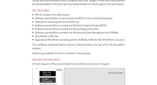 Information Assurance Foundation Datasheet