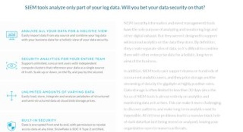 The Data Warehouse Built for Security Analytics