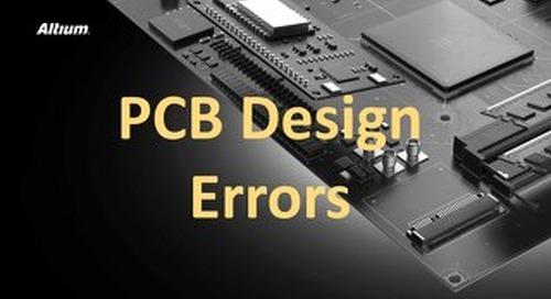PCB Design Errors