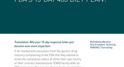 Will You Lose On The FDAs 15 Day 483 Diet Plan
