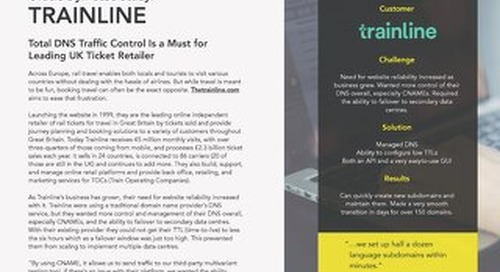 Case Study - Trainline