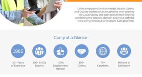 Cority Corporate Overview -  2018