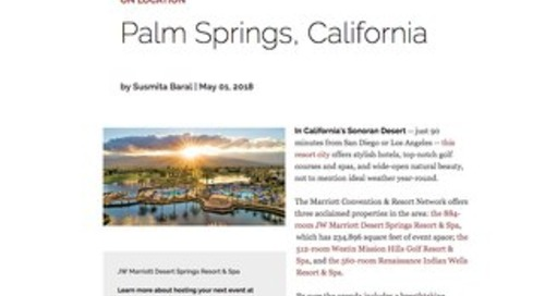 On Location: Palm Springs, California