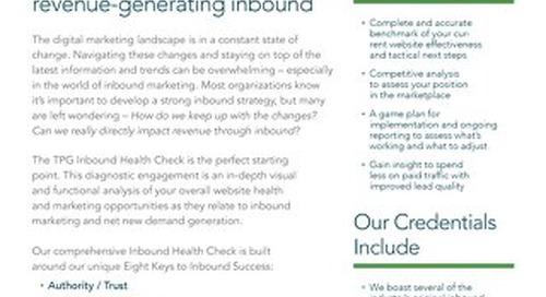 Inbound Health Check