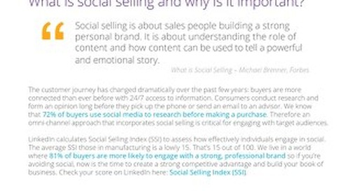 Social Selling for Manufacturers: Grapevine6