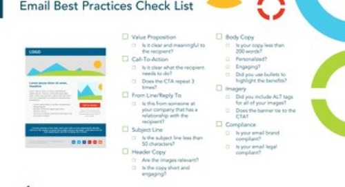 Email Best Practice Check List