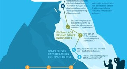Data Analytics in Financial Services Infographic
