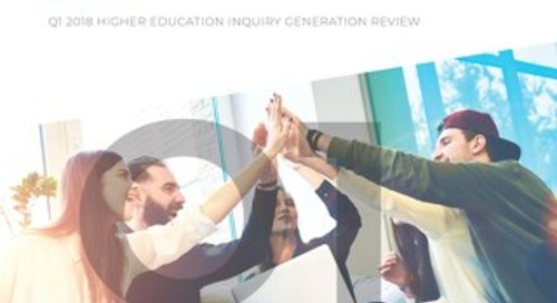 Q1 2018 Higher Education Inquiry Generation Review