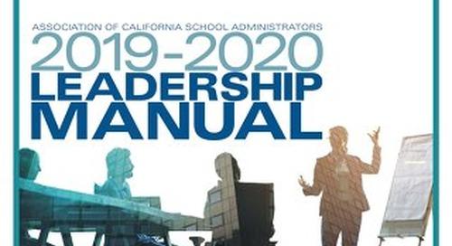 2018-19 Leadership Manual