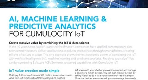 Combining the IoT & data science