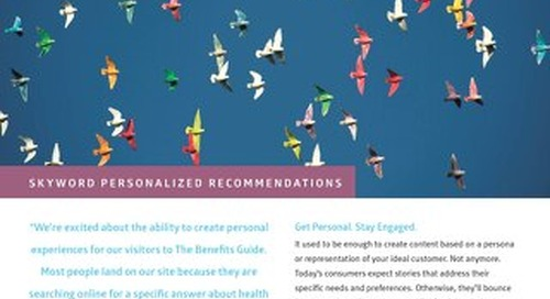 Skyword Personalized Recommendations Overview