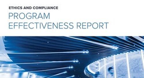 2018 E&C Program Effectiveness Report