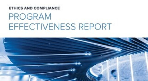 2018 E&C Program Effectiveness Report
