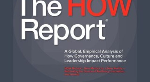 The HOW Report 2016