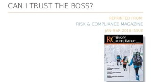 Can I Trust The Boss?