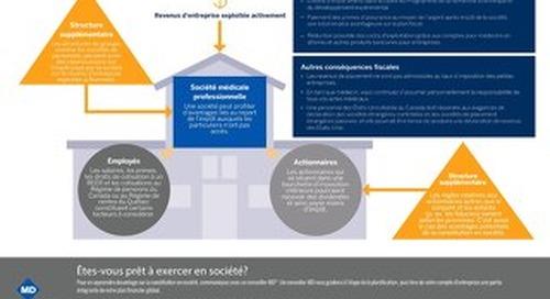 Résumé infographique : Devriez-vous vous constituer en société?