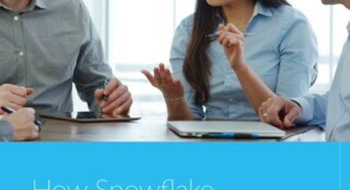 How Snowflake Delivers Holistic Security Analytics