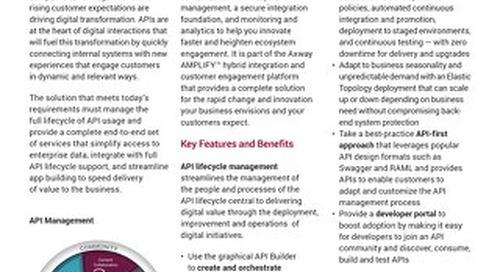 Axway AMPLIFY™ API Management