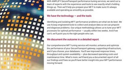 Axway SecureTransport Optimization