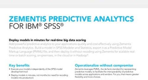 Zementis for IBM® SPSS®