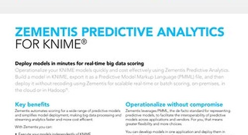 Zementis for KNIME®