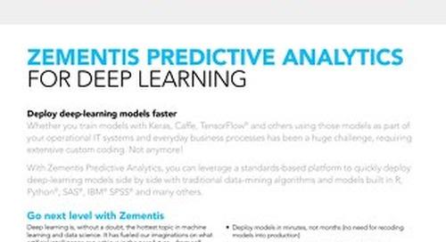 Zementis for Deep Learning