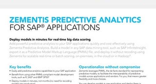 Zementis for SAP® applications