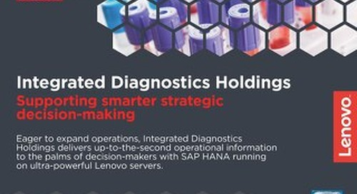 Case Study Integrated Diagnostics Holdings