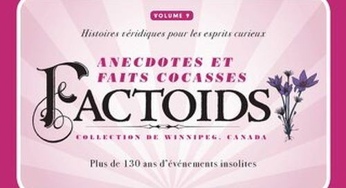 Factoids, collection de Winnipeg Volume 9