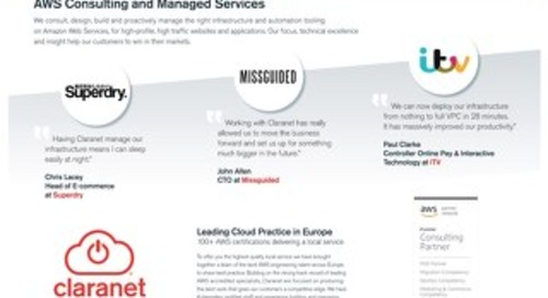AWS Consulting and Managed Services