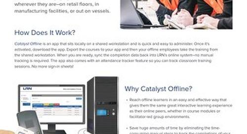 Catalyst Offline