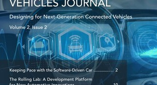 Connected Vehicles Journal - Volume 2, Issue 2