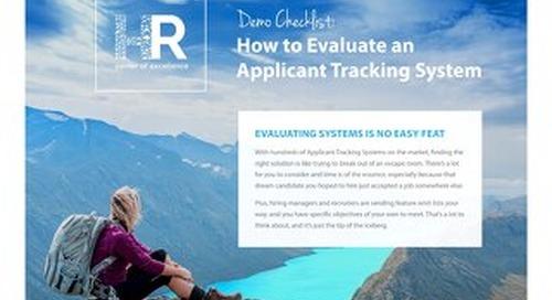 ATS Demo Checklist