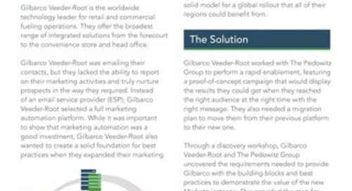 Case Study: Gilbarco Veeder-Root