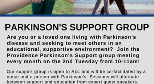 Parkinson's Disease Support Group