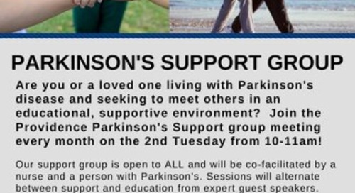 Parkinson's Disease Support Group