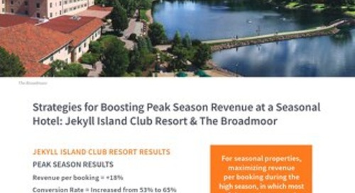 Boosting Peak Season Revenue Case Study