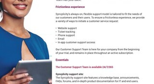 Syncplicity Customer Support Team