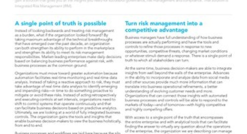 Integrated Risk Management