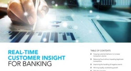 Real-time Customer Insight for Banking