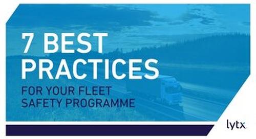 Seven Best Practices for Fleet Safety