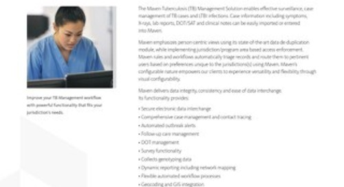 Maven Tuberculosis Management Solution